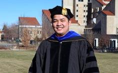 Phó giáo sư 8X để dành học bổng tiến sĩ toàn phần cho sinh viên Việt Nam