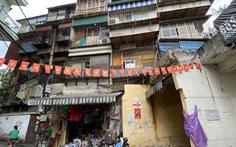 Chiếm 60% chung cư cũ cả nước, hàng chục năm Hà Nội chỉ cải tạo được 1,2%