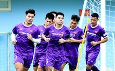 Có thể mưa to trong trận đấu giữa đội tuyển Việt Nam với Úc