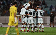 Không Ronaldo, Bồ Đào Nha vẫn đại thắng Azerbaijan