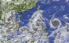 Bão Chanthu 'ghì chân' bão Conson, hút gió tây nam gây mưa lớn cho Nam Bộ