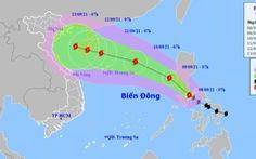 Bão Conson vào Biển Đông đêm nay, bão Chanthu mạnh hơn đe dọa tiếp