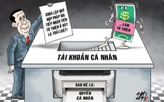 Dùng tài khoản cá nhân quyên tiền từ thiện: Pháp luật quy định thế nào?