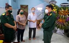Bộ tư lệnh QK7 chia buồn với gia đình dân quân 22 tuổi qua đời vì COVID-19