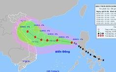 Bão số 5 diễn biến rất phức tạp do tương tác với 'siêu bão' Chanthu