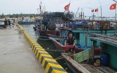 Quảng Bình cử ngư dân xét nghiệm âm tính tham gia đội bảo vệ tàu thuyền tránh bão
