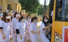 Hải Phòng cử 200 nhân lực y tế hỗ trợ Hà Nội chống dịch COVID-19