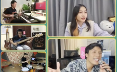 Ca sĩ Thu Minh, Hoàng Bách, Anh Tú, Orange lên sóng hát sẻ chia