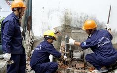 Sở Xây dựng đề nghị cho dịch vụ sửa chữa điện, nước hoạt động