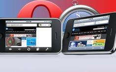 So sánh Opera Mini và Safari trên iPhone