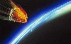 Thiên thạch khổng lồ bay xẹt ngang Trái đất