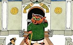 Con mèo trong festival truyện tranh quốc tế