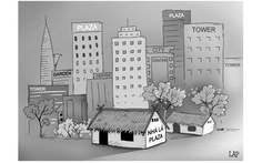 Plaza, tower... rồi gì nữa?