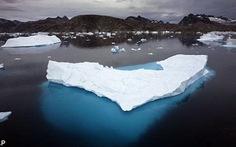 Băng tan với tốc độ khủng khiếp ở Bắc Cực