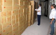 Tiêu hủy gần 10.000 thùng rau câu chứa DEHP