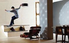 """Nhà của người """"mê"""" trượt ván"""