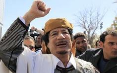 Cuộc tìm kiếm Gaddafi bắt đầu