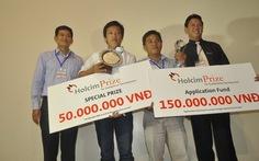 Thiết bị biến nước mặn thành nước ngọt đoạt Holcim Prize 2011