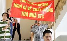 Vụ lọt thang máy: Người dân đòi quyền lợi