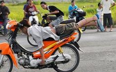 Dùng Bộ luật hình sự để chống đua xe