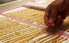 Giá vàng tăng gần 600.000 đồng/lượng