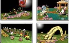 Lễ hội hoa Hà Nội 2012: Ngắm hoa, thưởng ngoạn di sản