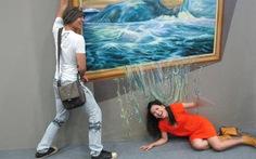 Cuộc triển lãm lạ của Ngọc Trinh