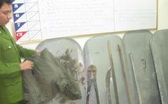 Bắt trùm giang hồ ở TP Vinh
