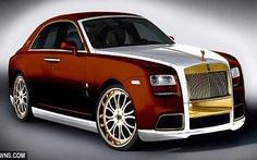 Roll-Royce dát vàng giá 1 triệu bảng Anh