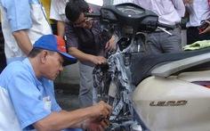 Cháy xe Honda: Họp đến khuya vẫn chưa kết luận