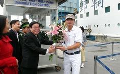 Cảng Chân Mây đón 600 khách tàu biển