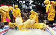 Trung Quốc bắt giữ bảy người gây ô nhiễm sông