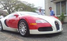 Nhập siêu xe Bugati Veyron 1,7 triệu USD