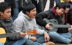 Du ca đường phố thu hút giới trẻ Hà thành