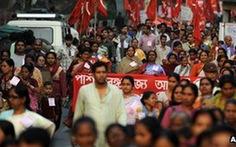 Ấn Độ: hàng triệu người đình công