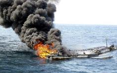 Cháy tàu Hàn Quốc, 3 thủy thủ Việt Nam thoát nạn