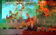 Khai mạc lễ hội dừa lần 3