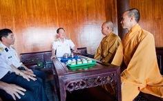 Hai đại đức trụ trì chùa Song Tử Tây - Trường Sa
