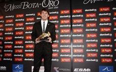 Messi giành Chiếc giày vàng châu Âu