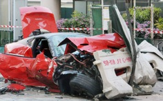 Nhà giàu Trung Quốc tông xe chết người ở Singapore