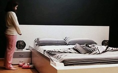 Giường điện tử tự dọn dẹp sau khi ngủ