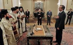 Thủ tướng mới của Hi Lạp tuyên thệ nhậm chức