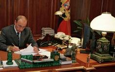 Tổng thống Nga phê chuẩn gia nhập WTO