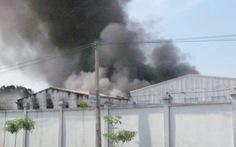 Hỏa hoạn thiêu rụi kho hàng công ty Adora Việt Nam