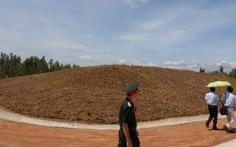 Đóng bãi chôn đất nhiễm dioxin ở sân bay Phù Cát