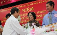 Trao tặng huy hiệu Đảng cho 40 đảng viên