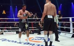 Vitali Klitschko thắng vì đối thủ tét mí mắt