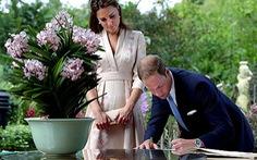 Công nương Kate Middleton lần đầu tới châu Á