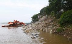 115 tỉ đồng xử lý sạt lở ven sông Hồng