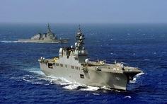 """Trung - Nhật: """"cuộc chiến"""" tàu sân bay?"""